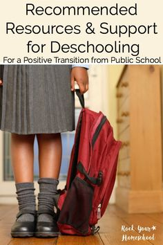 New homeschooler or considering homeschooling? Check out these recommended resources & support for deschooling. Also, get your answers to your deschooling questions! Part 3 of Deschooling Series.