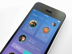 Contacts: 20 amazing iOS 8 design concepts with beautiful icons