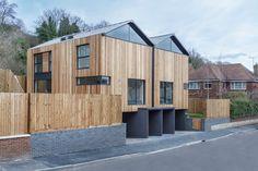 Cedar Lodge contemporary timber & zinc clad houses (9)