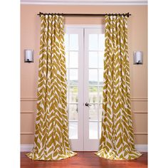 Sahara Desert Printed Cotton Curtain Panel | Overstock.com Shopping - The Best Deals on Curtains