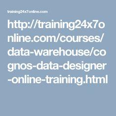 http://training24x7online.com/courses/data-warehouse/cognos-data-designer-online-training.html