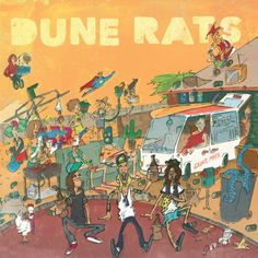 Dune Rats - Dune Rats (2014)  Indie-Rock band from Australia  #DuneRats #IndieRock