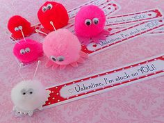"Valentine ""Luv Bugs"" - Easy, cute, and inexpensive to make for Valentine's Day!"
