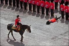 1970: A soldier faints in front of the Queen during the Trouping of the Colour  Read more: http://metro.co.uk/2015/09/08/64-pictures-of-the-queen-for-every-year-she-has-been-in-charge-5381544/#ixzz3lDlUWB88