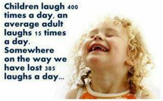 Re-learning the joy of laughter
