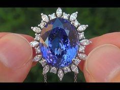 Tanzanite Jewelry, Royal Tiaras, Ring Earrings, Antique Jewelry, Jewelry Collection, Jewelery, Sapphire, Fine Jewelry, Gems