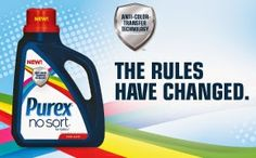 Saving Said Simply: Purex No Sort for Colors Laundry Detergent + Giveaway