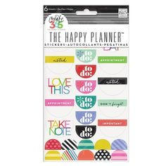 A set of stickers that will help you keep the most organized planner ever ($3.99).