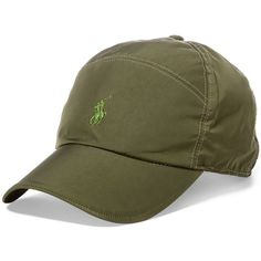 Polo Ralph Lauren Men's Baseball Cap ($60) ❤ liked on Polyvore featuring men's fashion, men's accessories, men's hats, green, mens caps and hats and polo ralph lauren mens hats