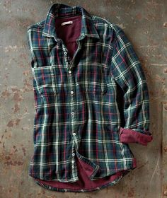 Meeting old friends while you're home for the holidays? Make a great impression in the Pub Plaid from Carbon2Cobalt