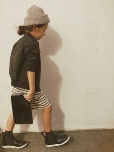 Kids fashion cool girl