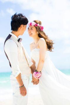 ハワイウェディングのビーチフォトが届きました☆の画像 | Ordermade Wedding Flower Item MY FL…