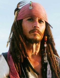 Captain Jack Sparrow- okay, he's an antihero, but everyone loves his drunken/gay ways