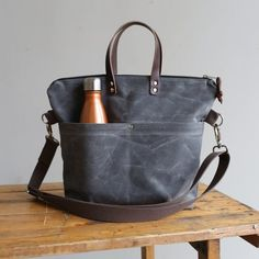5b853cb262 Canvas Leather Satchel Bag