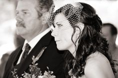 simple hair with a vintage hair net - thereddirtbride.com - see more of this wedding here Rustic Wedding Hairstyles, Vintage Hairstyles, Easy Hairstyles, Vintage Hair Accessories, Simple, Fashion, Moda, Fashion Styles, Easy Hairstyle