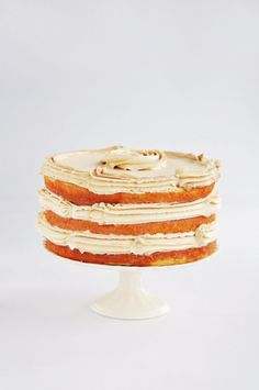 Vanilla Bean Latte Layer Cake | Sweetapolita
