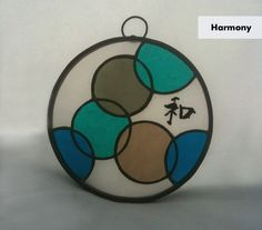 Stained Glass Suncatcher - 'Circle of Life: Harmony' by Smash Glassworks [SOLD]