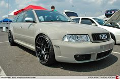 Audi RS 4 Avant build at Waterfest. Photo by Fourtitude.com