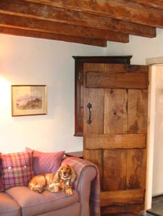 This length Antique Solid Oak Door gives you a truly rustic and traditional feel to your home. With a thickness of and available in a variety of widths, this antique solid oak door is a popular product to buy online. Internal Cottage Doors, Victorian Internal Doors, Solid Oak Internal Doors, Solid Oak Doors, Rustic Doors, Wooden Doors, Cottage In The Woods, Wood Cottage, Cottage Style Doors