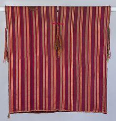 Tunic. Peru, 1400-1530. Inca. Camelid fiber
