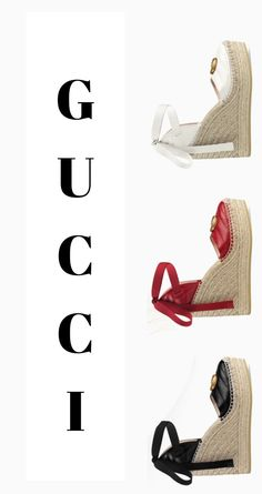 I Love Gucci, these sandals are amazing! #Gucci #GucciShoes #GucciSandals #Ad #GucciStyle #GucciWomen Gucci Brand, Guccio Gucci, Gucci Shoes, Gucci Fashion, Womens Fashion, Gucci Gifts, Lipstick Collection, Shopping Bag, Espadrilles