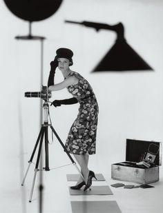 Fashion photography by F.C. Gundlach, 1957.