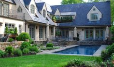 Of course, you don't necessarily have to have a beautiful french country home on the outside to decorate with french country inside.