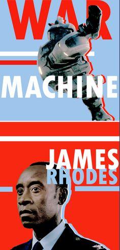 """Col. James """"Rhodey"""" Rhodes - War Machine"""