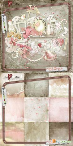 Scrap Set - Milkshake PNG and JPG Files