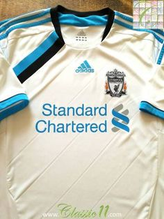 Official Adidas Liverpool third football shirt from the 2014/2015 season.