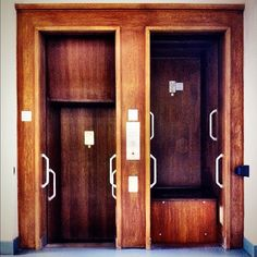 A paternoster lift