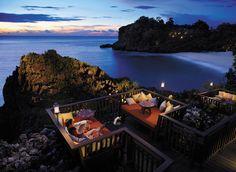 at Shangrila Resort Hotel Boracay -Solana deck .... a taste of heaven
