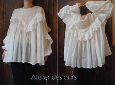 Tunique blanche coton