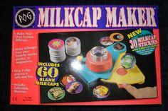 I even had a pog maker!