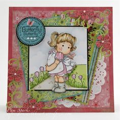 magnolia stamps and dies | Hello Butterfly Tilda – Magnolia stamps and dies