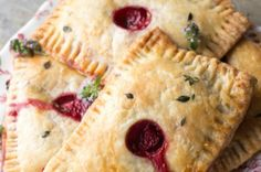 Strawberry and Goat Cheese Pastries from French Toast, Cheesecake, Salad, and 20 Other Recipes to Make With Berries