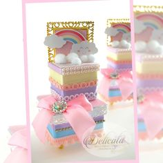 Decoration, Children, Party, Care Bear Party, Custom Boxes, Decorated Boxes, Luxury, Cases, Wedding