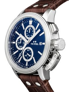 ⌚TW-Steel CE7009 Herrenuhr günstig @Timeshop24.de Watches For Men, Chronograph, Oclock, Omega Watch, Black Leather, Quartz, Stainless Steel, Crystals, Accessories