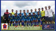 ASIOP  APACINTI VS ISA IMRAN...LIGA TOPSKOR U-13 2016/2017
