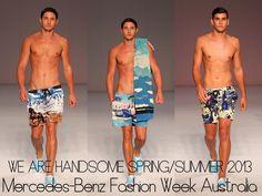 The Derek's Blog: We are Handsome SpringSummer 2013 – Mercedes-Benz Fashion Week Australia