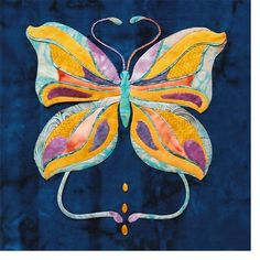 Art Nouveau Butterfly design by Mary Kay Perry