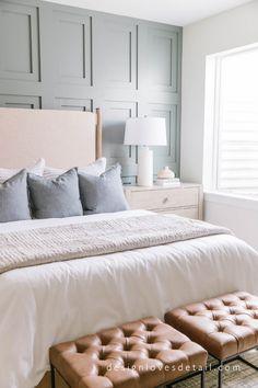 Boho Bedroom Decor, Home Bedroom, Modern Bedroom, Dream Bedroom, Beautiful Master Bedrooms, Apartment Master Bedroom, Nice Bedrooms, Calm Bedroom, Modern Room Design