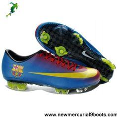 Latest Listing Nike Mercurial Vapor VIII FG - mercurial 8 firm ground - Barcelona Home team Football Shoes On Sale