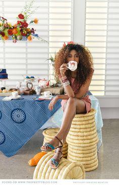 Gold Moon Vintage: High Tea Under the African Sun Weave Hairstyles, Pretty Hairstyles, Real Hair Wigs, Royal Tea, Bronze, Tea Blends, My Tea, Great Hair, High Tea