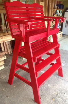 St Augustine patio have the best lifeguard mailbox chair on the market. Our lifeguard chair and outdoor patio chairs are pool and patio furniture. We also make tennis umpire chairs. Plywood Furniture, Lawn Furniture, Outdoor Furniture, Rustic Furniture, Furniture Design, Adirondack Chair Plans, Adirondack Furniture, Lawn Chairs, Outdoor Chairs