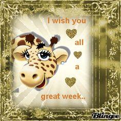 Tibs Tells Tales...: I Wish You All A Great Week...