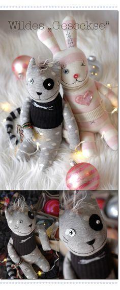 ★Les Tissus Colbert: Fabelhafte Geschenkidee mit Türchen N° 7 – ein DIY von Kelly--- like his little hair bear? monster?