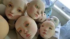 paper clay art dolls - Google Search