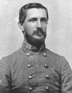 Robert Frederick Hoke (May 27, 1837 – July 3, 1912) was a Confederate major general during the American Civil War, present at one of the earliest battles, Big Bethel, where he was commended for coolness & judgment. Wounded at Chancellorsville, he recovered in time for the defence of Petersburg & Richmond, when his brigade distinguished itself at Cold Harbour (June 1864), acknowledged by Grant as his most costly defeat. Hoke was born in Lincolnton, North Carolina