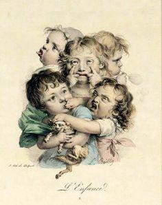 L'enfance, Louis-Leopold Boilly (1761-1845, French)